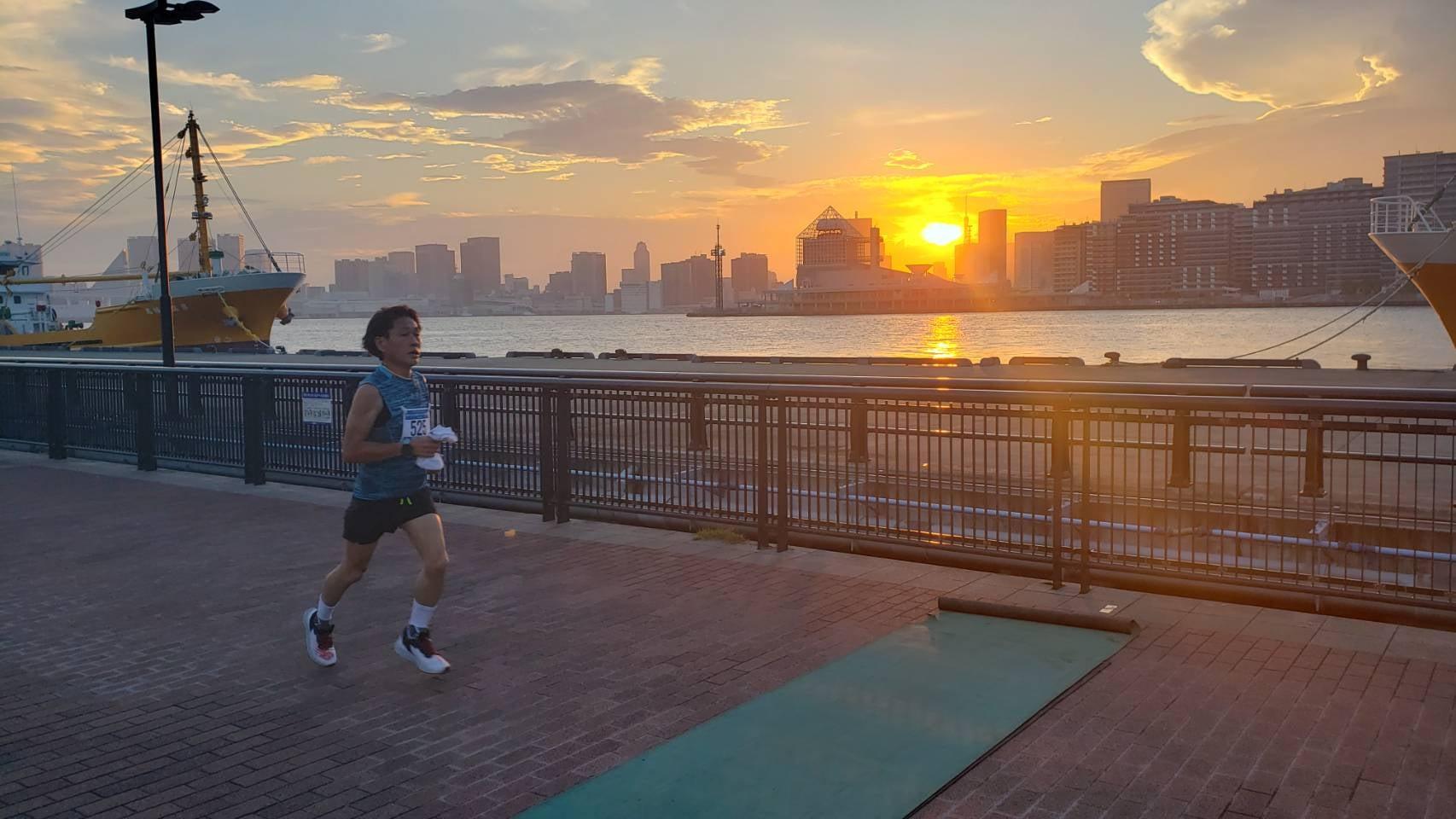 【ランニング・豊東京)】第6回豊洲ぐるり公園ナイトハーフマラソン 2021.9.11