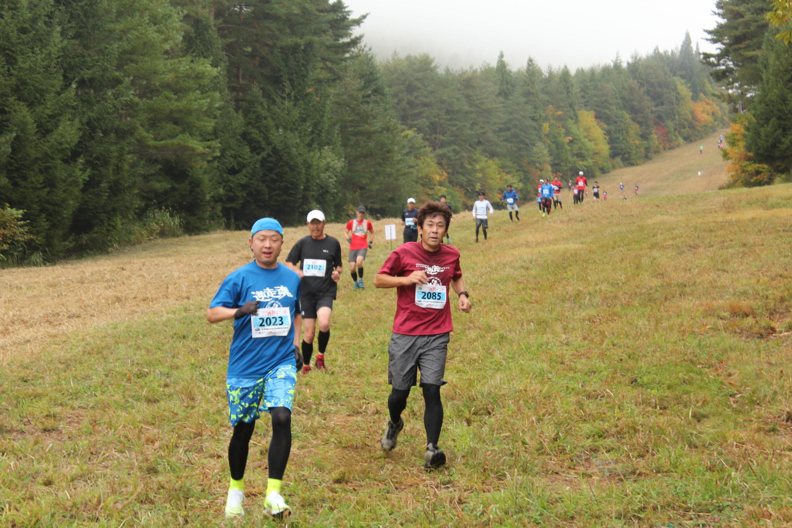 【ランニング・福島】〜ゲレンデ逆走マラソン2021〜 黄金の磐梯山レース 2021.9.18